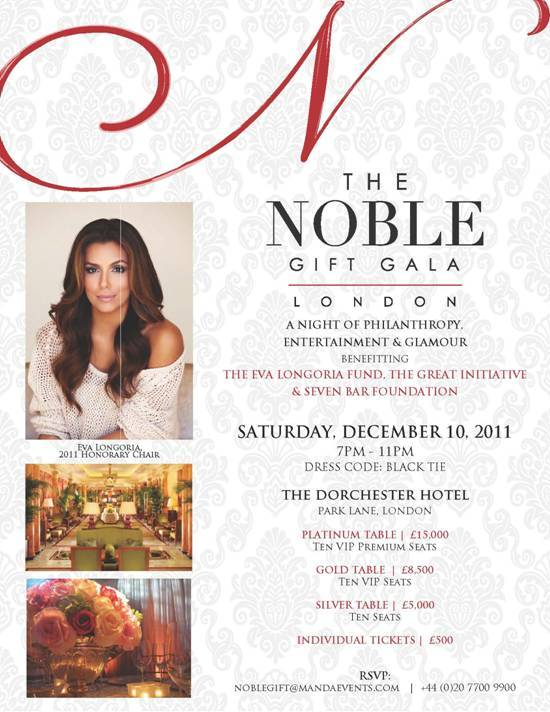 Haute Event: The Noble Gift Gala With Eva Longoria
