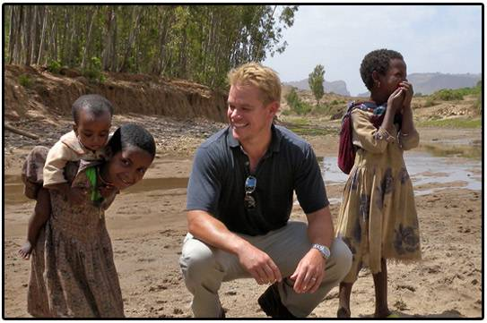 Haute 100 Update: Matt Damon Fights for Proper Sanitation in Developing Countries