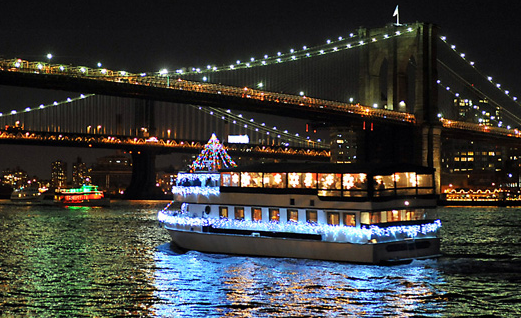 New York Harbor's Lighted Boat Parade