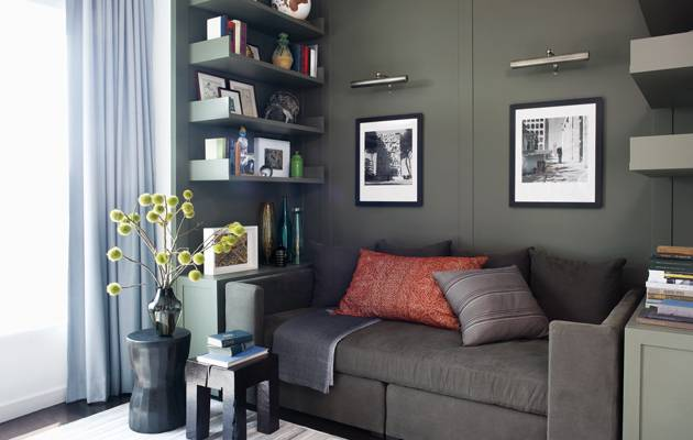Hilary Swank's Apartment Featured in Elle Decor