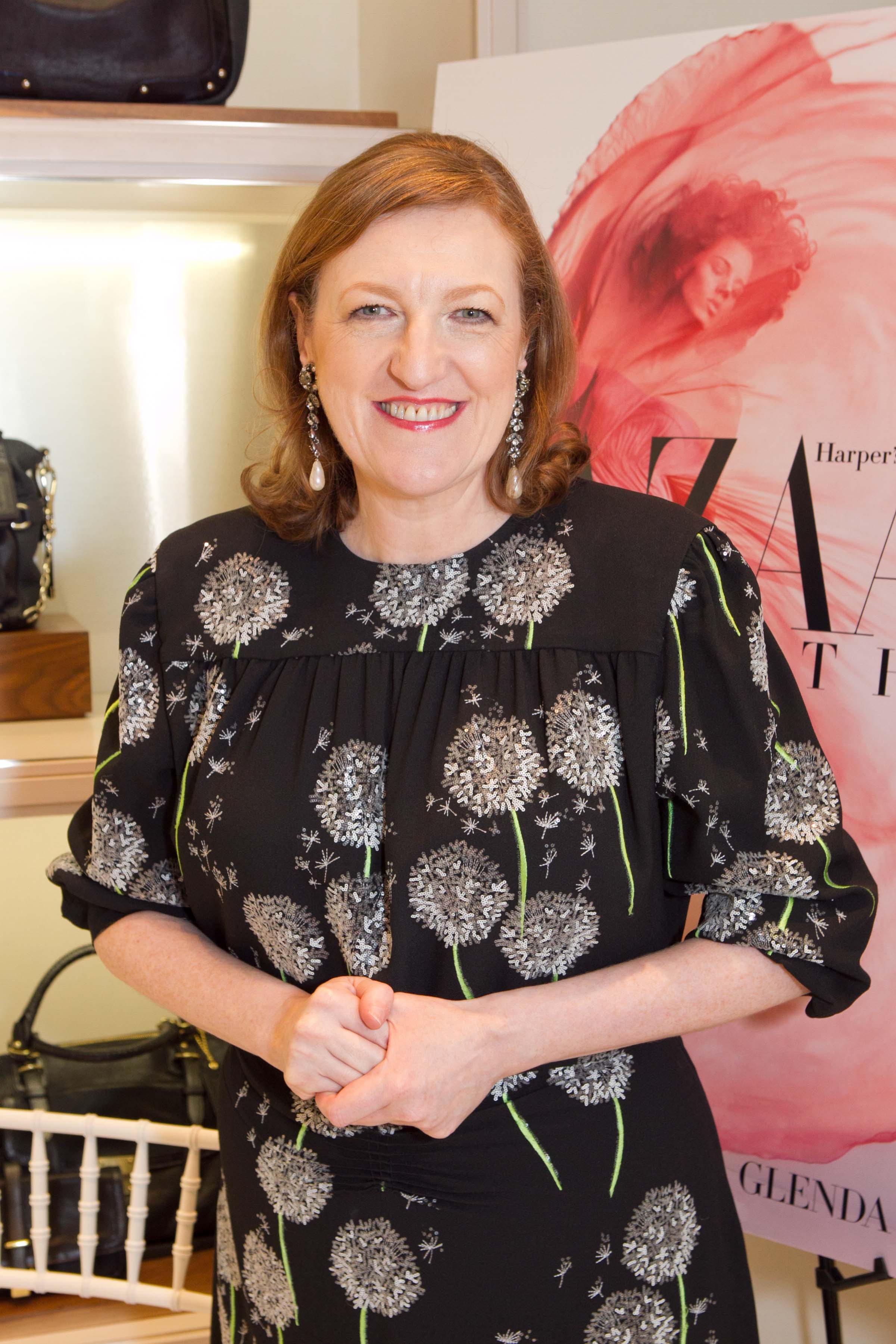 Glenda Bailey, Harper's Bazaar Virtuoso, Delivers Fashion Greatness