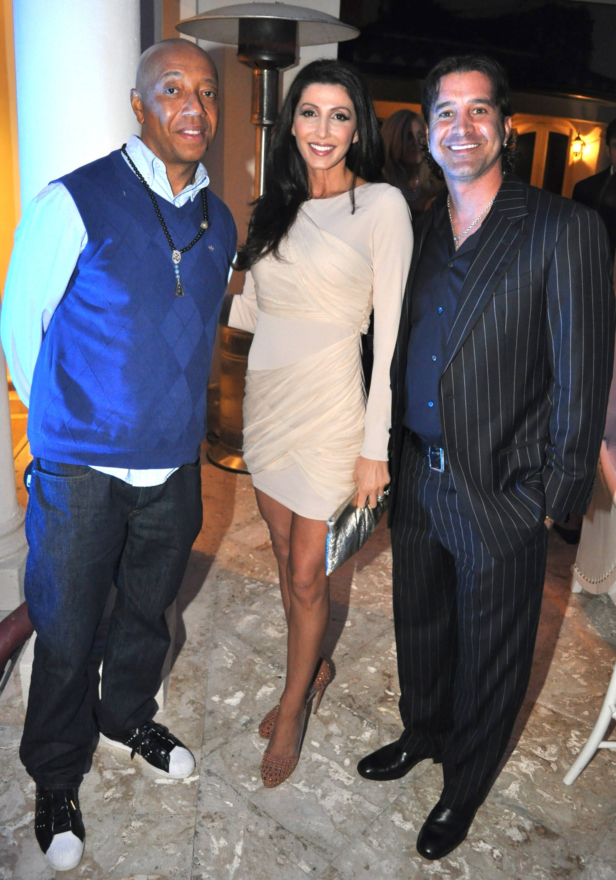 Russell Simmons, Jaclyn & Scott Stapp