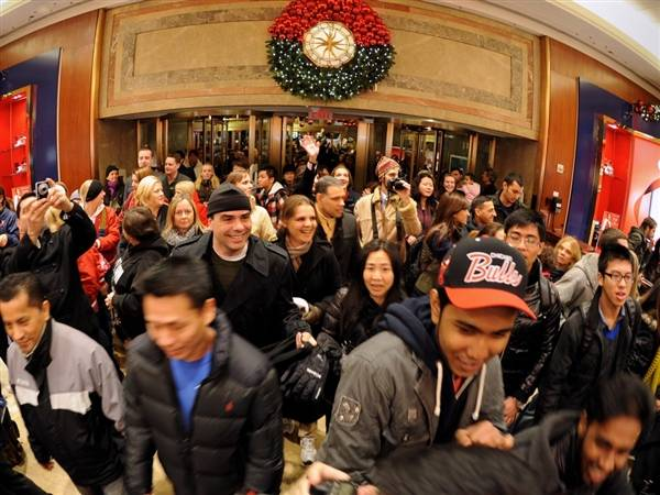 A Billion Dollar Jack Pot for Black Friday Weekend in NYC