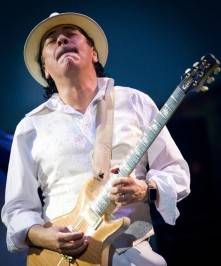 Carlos Santana completed his two-year and first ever rock and roll residency show, Supernatural Santana: A Trip Through The Hits, at The Joint at Hard Rock Hotel.