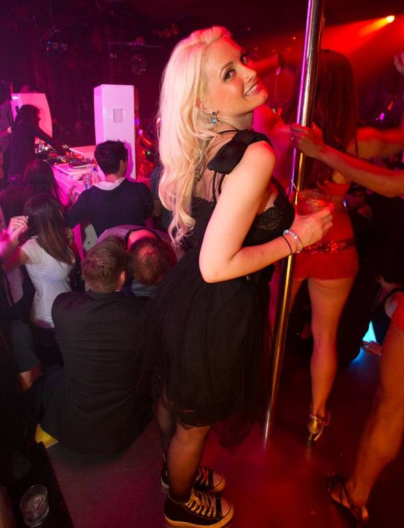 Haute Event: Skrillex Spins at Surrender with Holly Madison