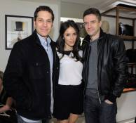 Art of Elisium's Richard Kean,  Abigail Spencer and  Topher Grace