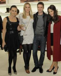 Carla Gallo,  Sunny Mabrey, Topher Grace and Abigail Spencer
