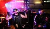 Joel and Benji Madden performing live at Chateau Nightclub & Gardens at Paris Las Vegas.