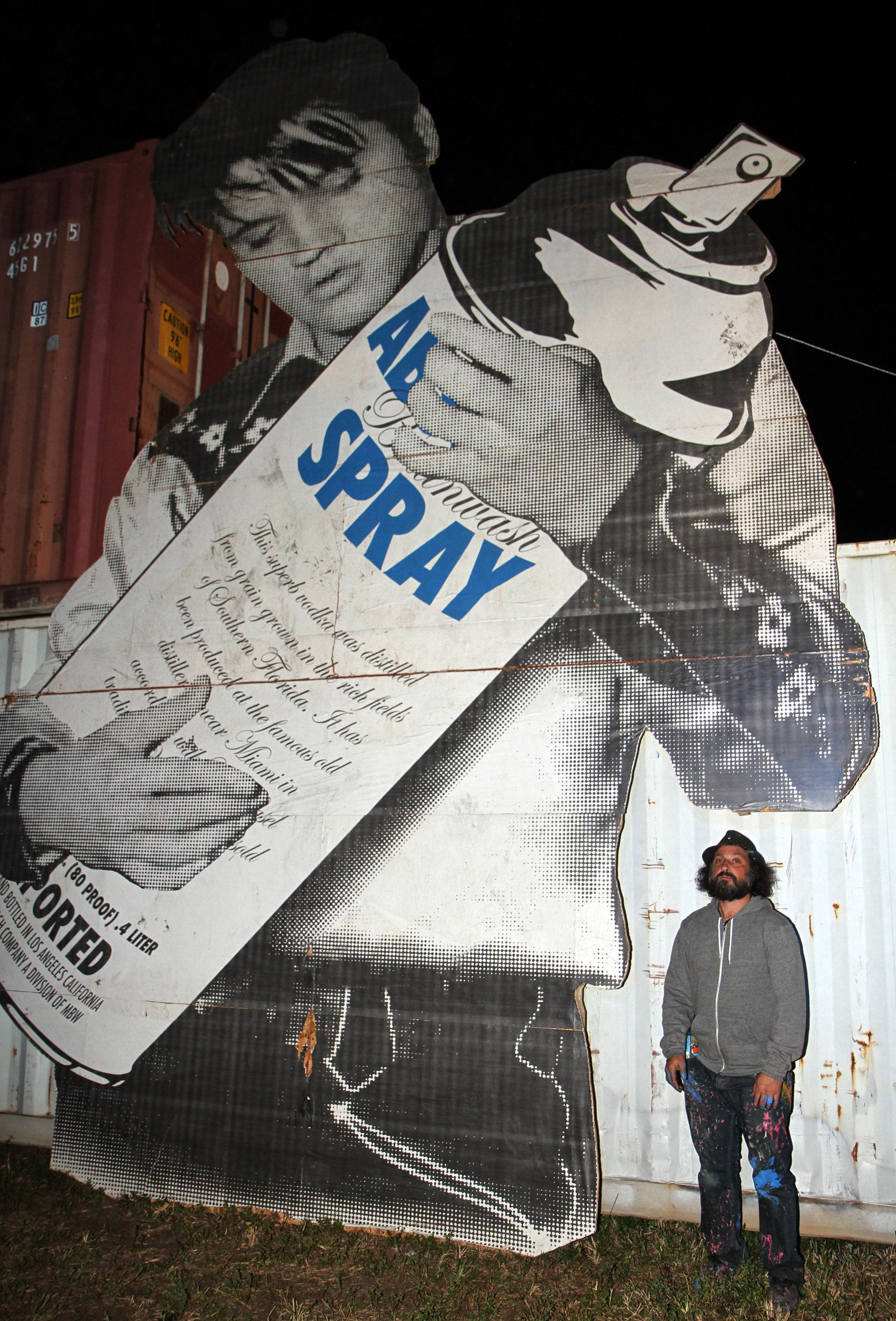 Art Basel: Mr. Brainwash Collaborates With ABSOLUT Vodka