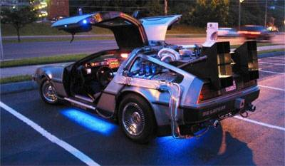Back to the Future Items Head to Auction Including DeLorean DMC-12