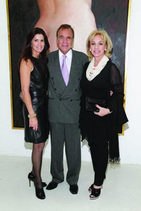Darlene Boytel Perez, Jorge Perez and Lea Black