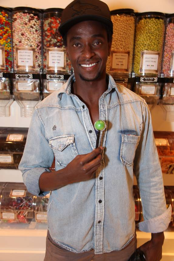 Haute Event: 'Twilight' Star Edi Gathegi Dines at Sugar Factory