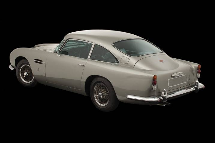 Haute Auto: George Harrison's Aston Martin DB5 Sold for $549,045