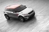 Grey and Orange Evoque
