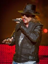 Axl Rose performs at the Joint at the Hard Rock Hotel. Photos by ©Erik Kabik/RETNA/erikkabik.com
