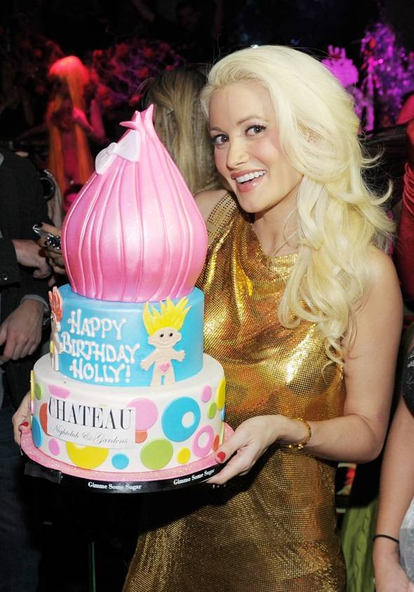Haute Event Holly Madison Celebrates Her Birthday Early