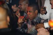Endless bottles of champagne made their way to Jay-Z's table.