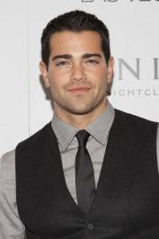 Jesse Metcalfe on the red carpet at Vanity Nightclub.