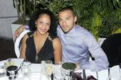 Jesse Williams and fiancee Aryn Drake-Lee