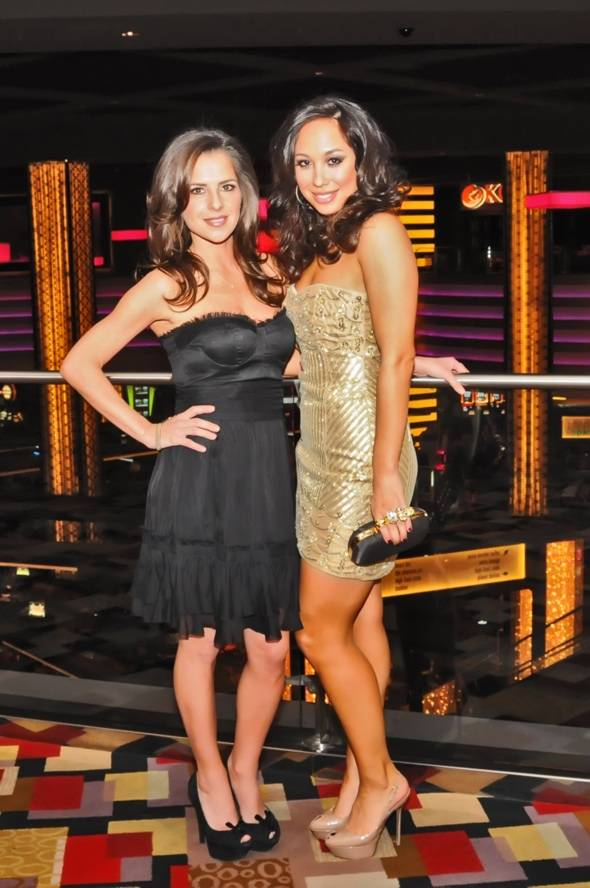 Haute Event: Kelly Monaco and Cheryl Burke Dine at Koi, Party at Chateau