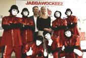 NASCAR Sprint Cup Series driver Kevin Harvick and his wife DeLana at Jabbawockeez.