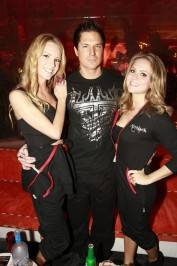 "Zak Bagans from ""Ghost Hunters"" with friends."
