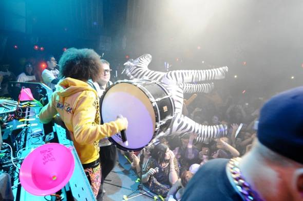 Haute Event: Redfoo and the Party Rock Crew Celebrate Their Final Event of 2011 at Marquee
