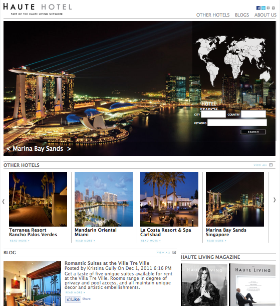 Plan Your Trip with the Haute Hotel Network