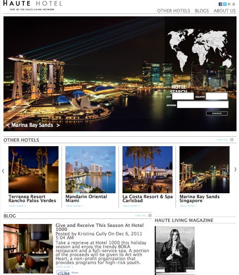 Luxury Awaits–Just Follow the Haute Hotel Network