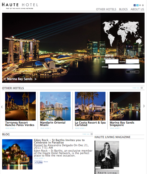 Find Reviews, Booking Specials and More on the Haute Hotel Network