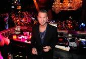"Mike ""The Situation"" Sorrentino in the deejay booth at Chateau Nightclub & Gardens at Paris Las Vegas."