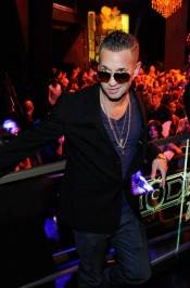 "Mike ""The Situation"" Sorrentino at Chateau Nightclub & Gardens at Paris Las Vegas."