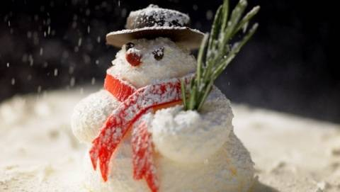 Holiday Dining: The Snowman Vacherin Debuts at Central Michel Richard