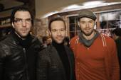 Zachary Quinto, Chris Diamantopoulos and Kellan Lutz