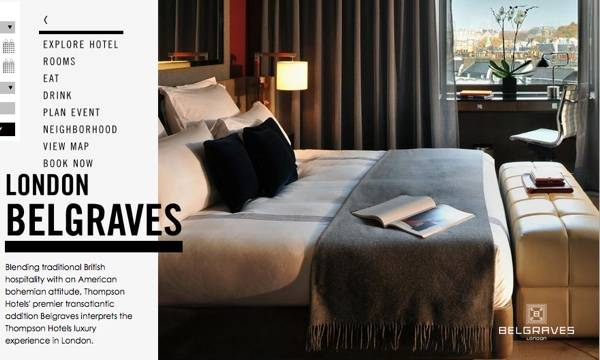 Thompson's Belgraves Hotel Will Open in London on February 1st