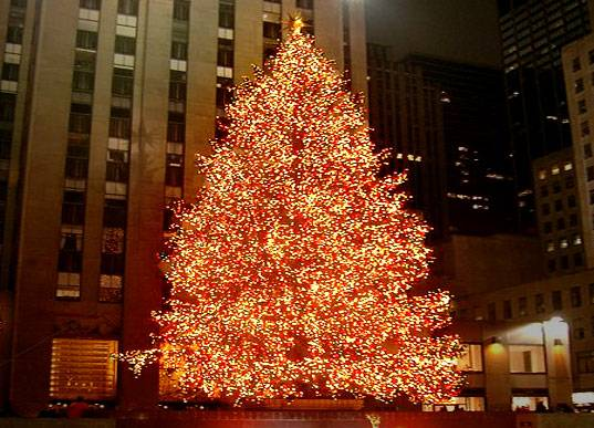 It's Lights On for The Rockefeller Center Christmas Tree