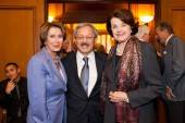 Mayor Ed Lee alongside Representative Nancy Pelosi and Senator Dianne Feinstein