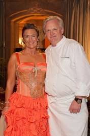 Carla Wytmar and Chef Lucas Schoemaker