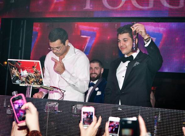 Haute Event: Rob Kardashian Rings in the New Year at Tryst