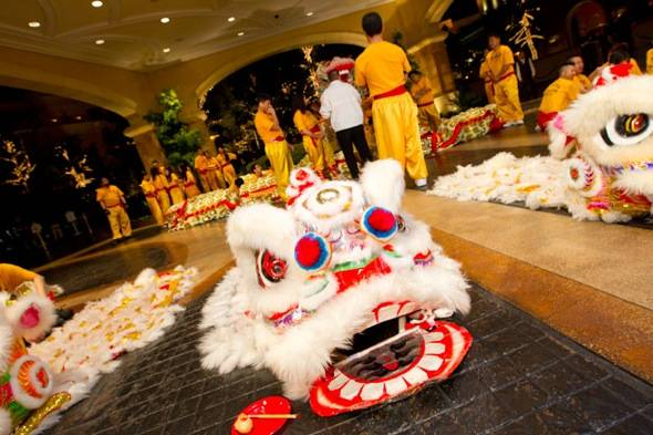 Haute Event: Wynn Celebrates the Year of the Dragon