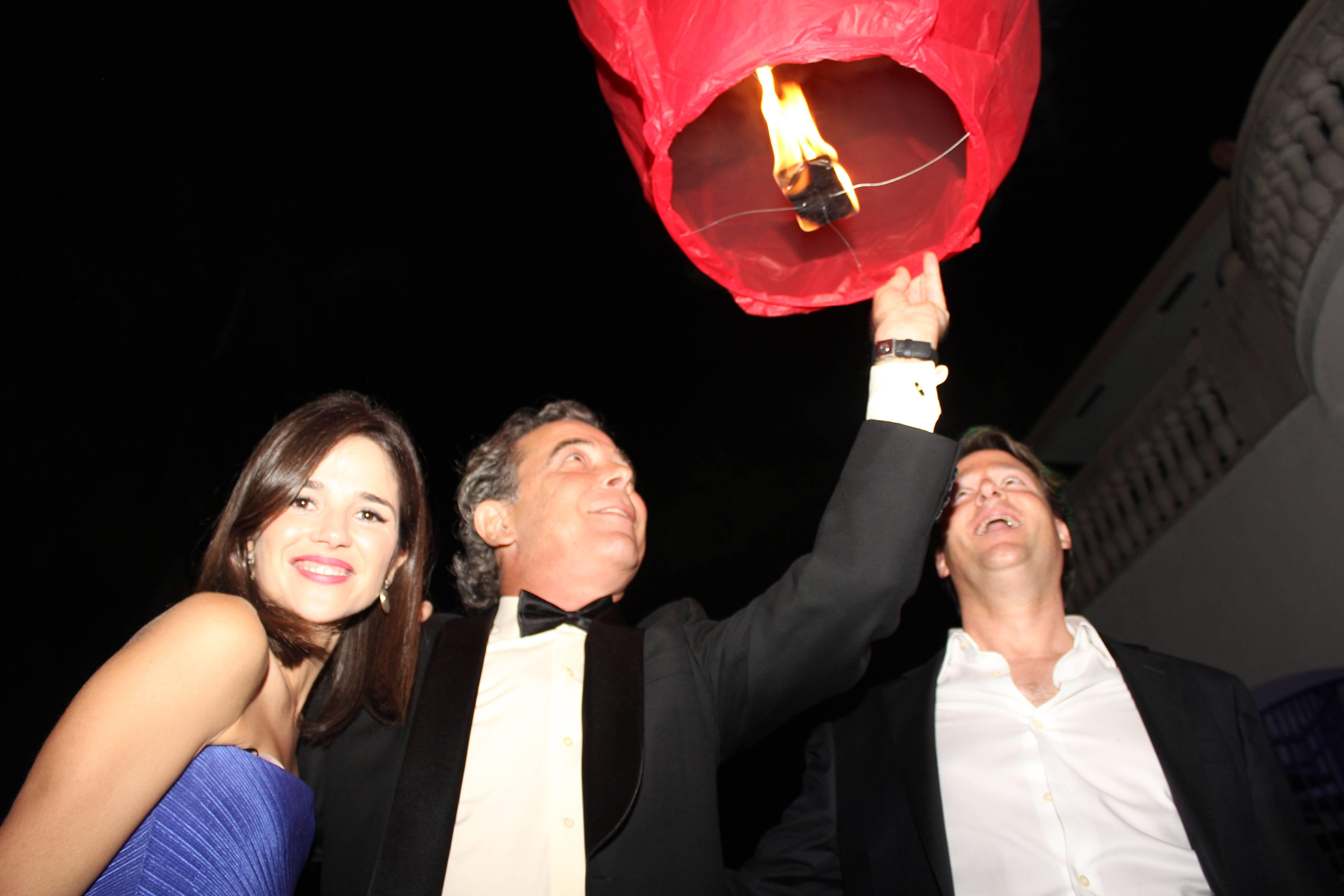 Ana Wolfington, Nacho Vega and Sean Wolfington