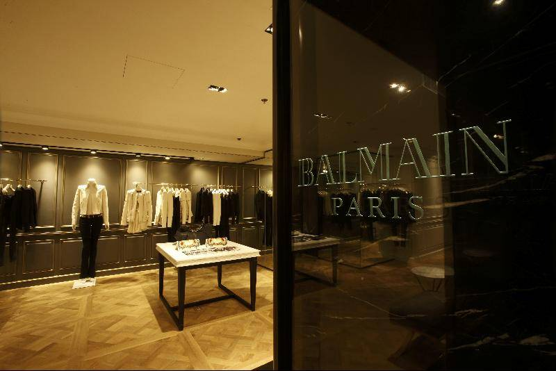 Balmain Paris Opened First Hong Kong Store