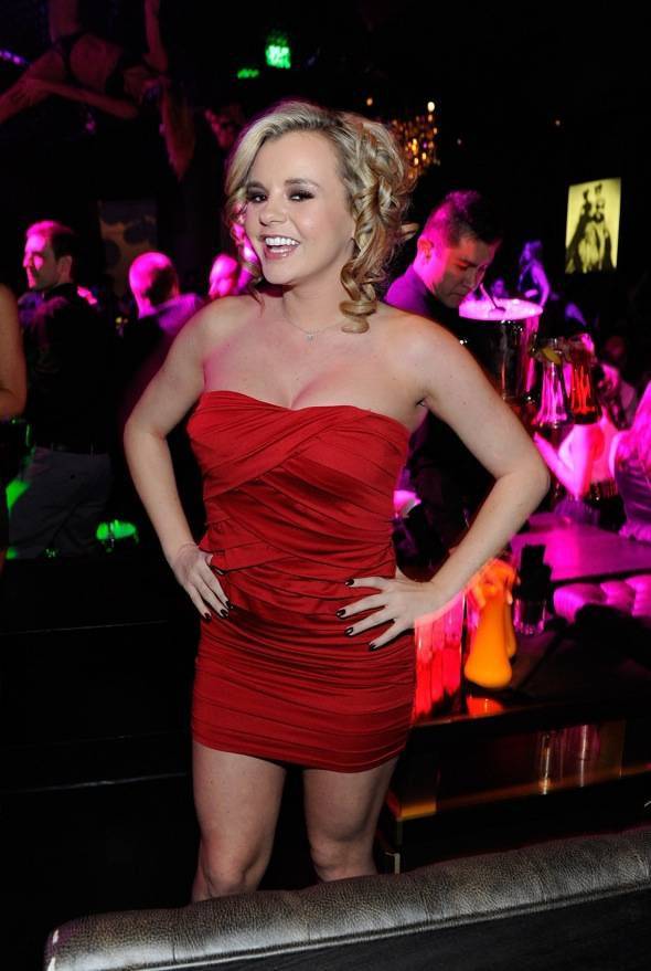Haute Event: Playboy Cover Girl Bree Olson Parties at Gallery Nightclub