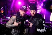 Brothers Joel and Benji Madden put on a deejay set at Chateau Nightclub & Gardens.