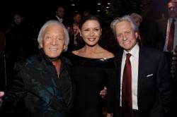 Marty Richards, Catherine Zeta-Jones, Michael Douglas