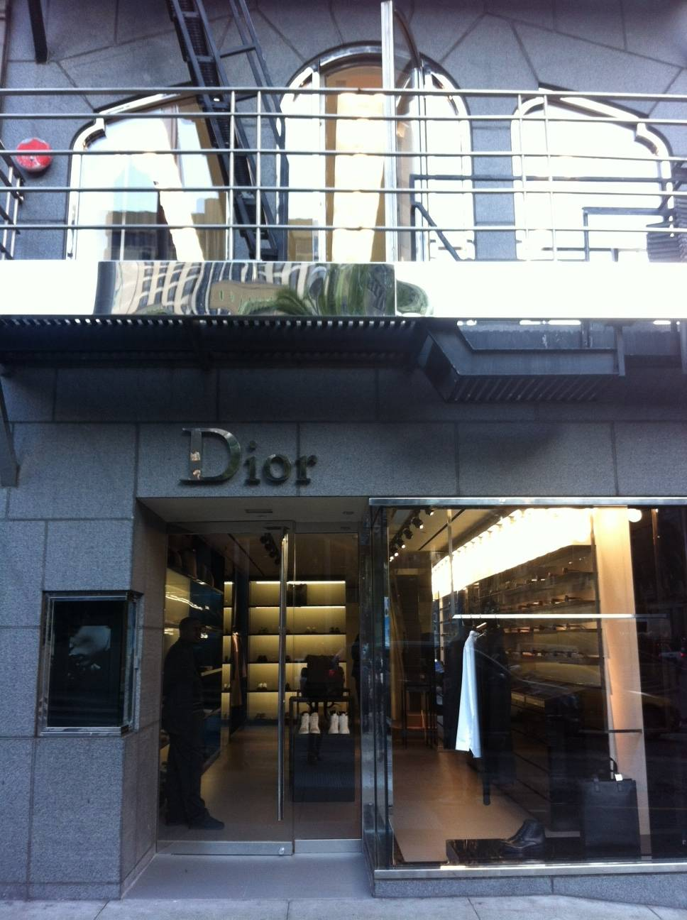 Dior Homme Store Opens in Union Square, San Francisco