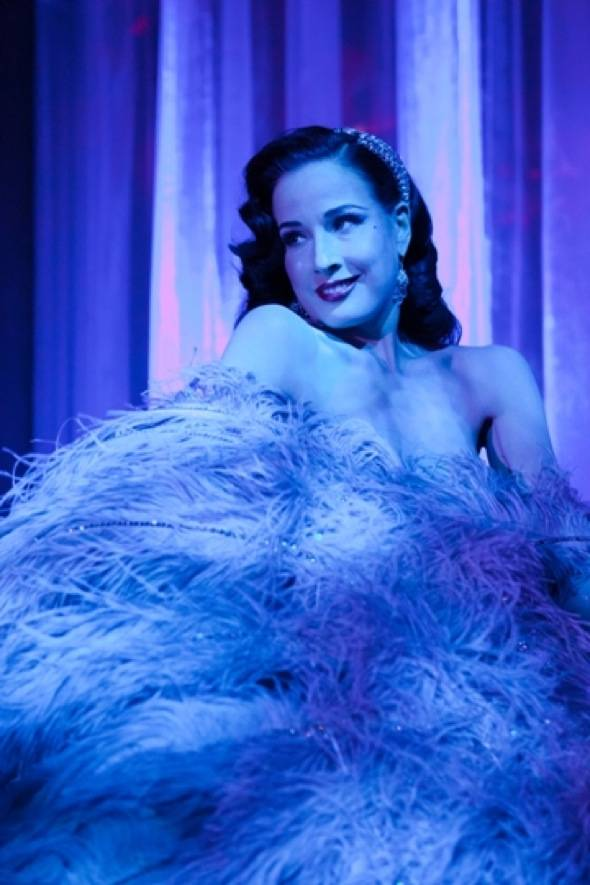 Haute Event: Dita Von Teese Puts On Her Burlesque Show at Hyde Lounge