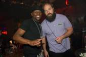 Floyd Mayweather Jr. and DJ Fred Matters at Marquee.