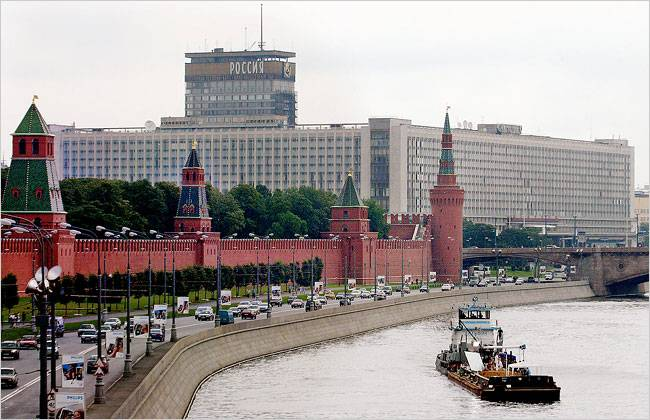 Park To Replace Soviet-Era Hotel
