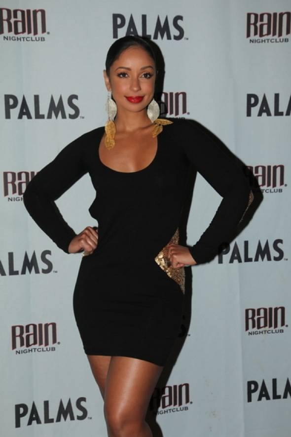 Haute Event: Mya Hosts at Rain with Dennis Rodman in the House